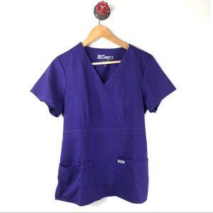 Grey's Anatomy M top scrubs medical uniform nurse